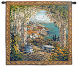 Seaview Hideaway Wall Tapestry by Yuri Lee