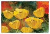 Yellow Pops II Prints by Angellini