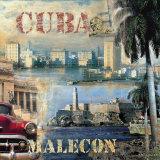 La Habana, Cuba II Poster von John Clarke