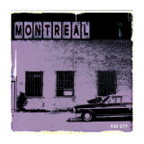 Montreal Vice City in Purple Prints by Pascal Normand