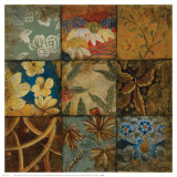 Floral Mosaic IV Posters par John Douglas
