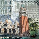 San Marco, Venezia II Poster by John Clarke