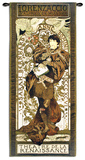 Lorenzaccio Wall Tapestry by Alphonse Mucha