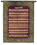Jingle Bells Wall Tapestry