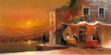 Dinner for Two II Print by Willem Haenraets