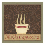 Moch Cappuccino Poster by Dan Dipaolo