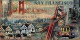 San Francisco Kunstdrucke von John Clarke