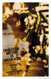Charleston Battery vs. Austin Aztex Art by Christopher Rice