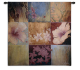 Tropical Nine Patch II Wall Tapestry by Don Li-Leger