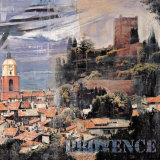 Saint-Trope, Provence II Print by John Clarke