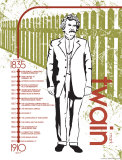 Mark Twain Art by Jeanne Stevenson