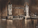 London Tower Bridge Prints by Yuliya Volynets