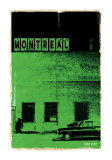 Montreal Vice City in Green Posters by Pascal Normand