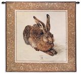 Hare Wall Tapestry by Albrecht Dürer