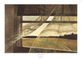 Wind from the Sea Posters af Andrew Wyeth