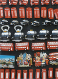 London Magnets Prints by Jean-jacques Bernier