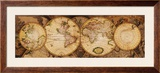 Map of the World: Nova Totius Terrarum Orbis Prints