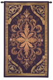 Wood Inlay Teak Wall Tapestry