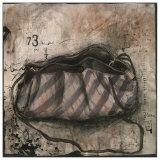 Sac a Main Violet a Carreaux Print by Alexandra Breda