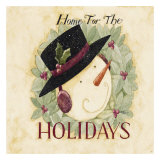 Holidays Print by Dan Dipaolo