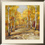 Aspen Gold II Print by Rong Gang