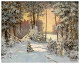 Winterwoods Posters by Sorgei Artov