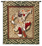 Eastern Warrior Wall Tapestry