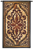 Wood Inlay Birch Wall Tapestry