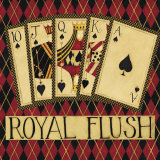 Royal Flush Art by Dan Dipaolo