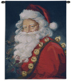 St. Nick Wall Tapestry by Susan Comish