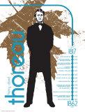Henry David Thoreau Posters by Jeanne Stevenson