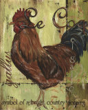 Rooster I Posters by Debbie DeWitt