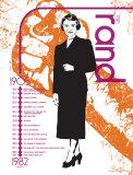 Ayn Rand Poster van Jeanne Stevenson