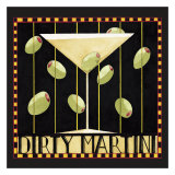 Dirty Martini II Prints by Dan Dipaolo