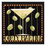 Dirty Martini II Poster by Dan Dipaolo
