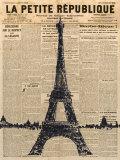 Paris Journal I Kunstdrucke von Maria Mendez