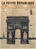 Paris Journal II Poster par Maria Mendez