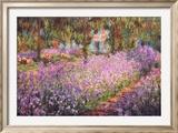 Des Künstlers Garten in Giverny, ca. 1900 Kunstdrucke von Claude Monet