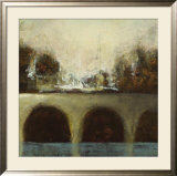 Foggy Bridge II Print by Randy Hibberd