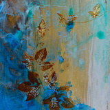 Jewelled Leaves XVII Prints by Jennifer Hollack