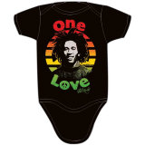 Infant: Bob Marley - Peace Bodysuit T-Shirt