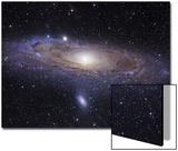La galaxia de Andrómeda Póster por Stocktrek Images,