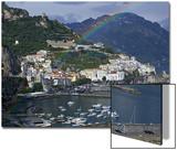 Amalfi, Amalfi Coast, Italy Posters by Walter Bibikow
