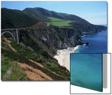 Bixby Bridge on Highway 1, Big Sur, CA Art by Michele Burgess