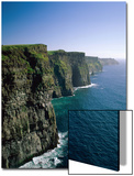 Cliffs of Moher, County Clare, Ireland Posters by Steve Vidler