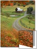 Sleepy Hollow Farm, Woodstock, VT Plakater af Charles Benes