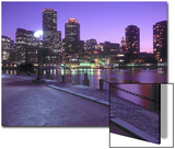 Nighttime Boston, Massachusetts Prints by John Coletti