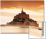 Mont St. Michel, Manche, Normandy, France Print by Doug Pearson