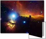 Alnitak Region in Orion (Flame Nebula NGC2024, Horsehead Nebula IC434) Posters by  Stocktrek Images