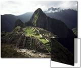 Inca Site, Machu Picchu, Unesco World Heritage Site, Peru, South America Posters by Rob Cousins